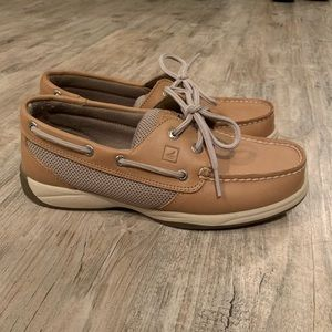 Ladies Sperry Tan Loafers